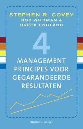 Afbeeldingen van 4 managementprincipes voor gegarandeerde resultaten