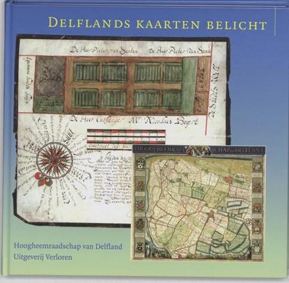 Afbeeldingen van Delflands kaarten belicht