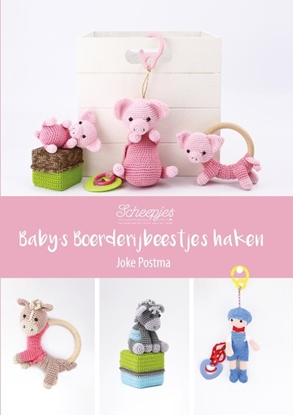 Afbeeldingen van Baby's Boerderijbeestjes haken
