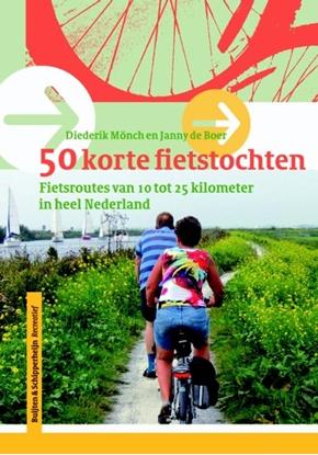 Afbeeldingen van 50 korte fietstochten in Nederland