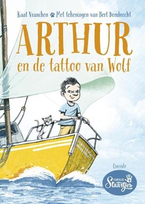 Afbeeldingen van Arthur en de tattoo van Wolf