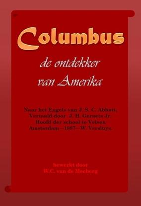 Afbeeldingen van Columbus, de ontdekker van Amerika
