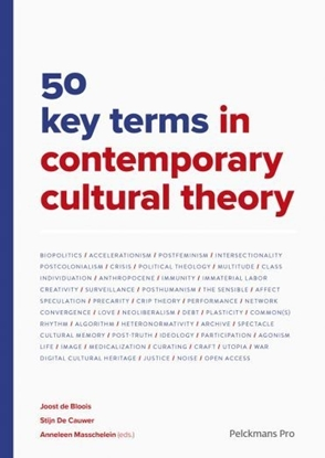 Afbeeldingen van 50 key terms in contemporary cultural theory