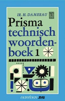Afbeeldingen van Vantoen.nu Prisma technisch woordenboek 1