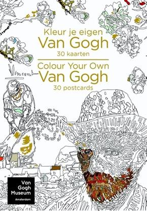 Afbeeldingen van Kleur je eigen Van Gogh - Colour your own Van Gogh