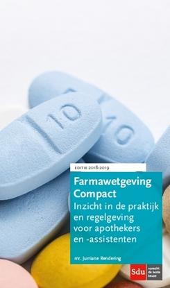 Afbeeldingen van Farmawetgeving Compact, Editie 2018-2019.