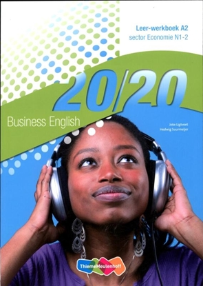Afbeeldingen van 20/20 English A2 Economie N1-2 Leer-werkboek
