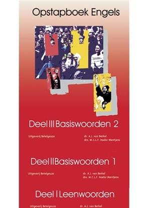 Afbeeldingen van Opstapboek Leenwoorden, Basiswoorden I, Basiswoorden II Complete set