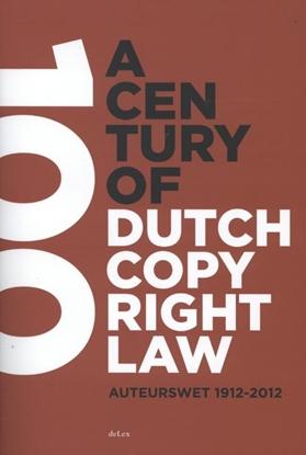 Afbeeldingen van A century of Dutch copyright law