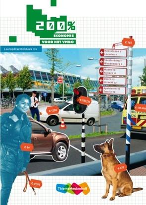 Afbeeldingen van 200 procent Economie voor het vmbo Leeropdrachtenboek 3k