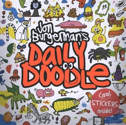 Afbeeldingen van Jon Burgerman's Daily Doodle