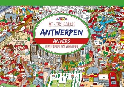 Afbeeldingen van Antwerpen, creatief kleuren voor volwassenen