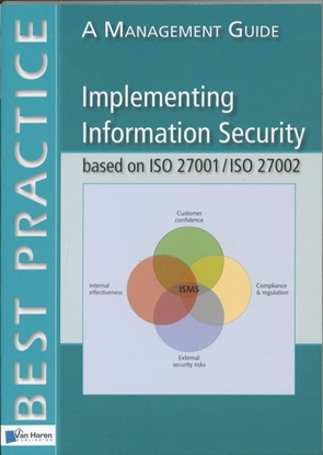 Afbeeldingen van Best practice Implementing information security based