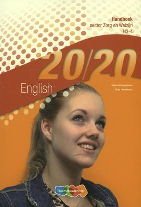 Afbeeldingen van 20/20 English Sector zorg en welzijn N3-4 Handboek