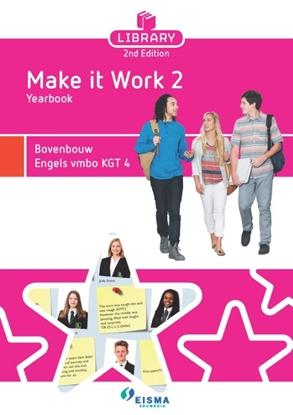 Afbeeldingen van Library 2nd Edition Bovenbouw Engels vmbo KGT 4 Yearboek