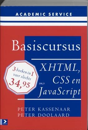 Afbeeldingen van Basiscursussen Basiscursus XHTML, CSS en Javascript