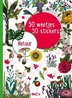 Afbeeldingen van 50 weetjes, 50 stickers Natuur