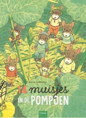 Afbeeldingen van 14 muisjes en de pompoen