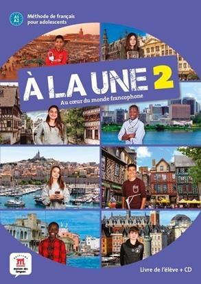 Afbeeldingen van À la une 2 Livre de l'élève + CD