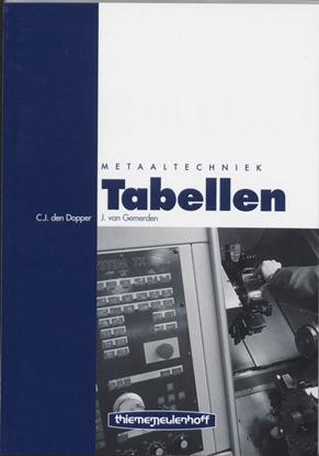 Afbeeldingen van Tabellen metaaltechniek