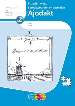 Afbeeldingen van Beka plus reeks Puzzelen met spreekwoorden Groep 7-8