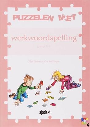 Afbeeldingen van Ajodakt, Puzzelen met werkwoordspelling 5 ex 1 Groep 7-8 Werkboek