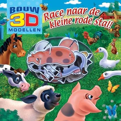 Afbeeldingen van 3D race naar de rode stal!