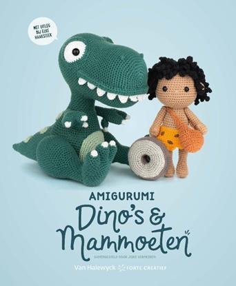 Afbeeldingen van Amigurumi Dino's en Mammoeten