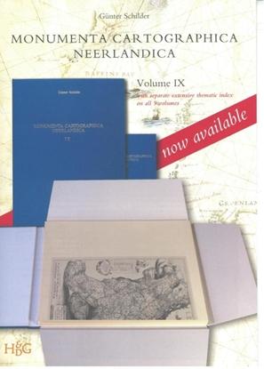 Afbeeldingen van Monumenta Cartographica Neerlandica IX