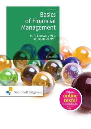 Afbeeldingen van Basics of financial management