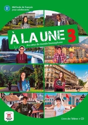 Afbeeldingen van À la une 3 - Livre de l'élève + CD
